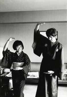 @hardtosayno   Paul McCartney in Japan, 1966. This completed me.