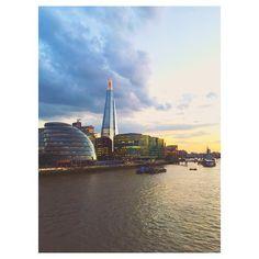 #London #CityHall #TheShard #River #Thames #summer #sky #sunset #skyscrapers #倫敦 #泰唔士河 #六月 #夏天 #夕陽 #MigrationMadeEasy