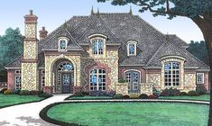 Future Home Theater and Game Room - 48307FM   1st Floor Master Suite, Bonus Room, Butler Walk-in Pantry, CAD Available, Corner Lot, Den-Office-Library-Study, European, French Country, Luxury, Media-Game-Home Theater, PDF   Architectural Designs