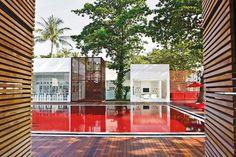 La piscine de l'hôtel Library à Koh Samui en Thaïlande