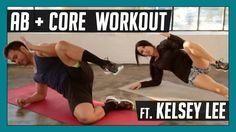 10 Min Abs & Core Workout - At Home Abdominal and Oblique Exercises w/ K...