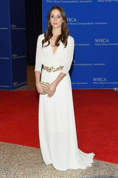 Troian Bellisario Evening Dress - Troian Bellisario went for boho elegance in this floaty gown during the White House Correspondents' Association Dinner.