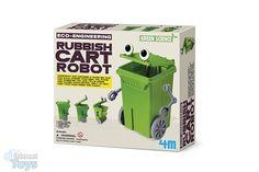 4M Kidszlabs Green Science/Eco-Engineering: Afvalbak robot