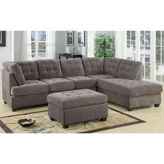living room furniture l shaped light brown velvet sectional sofa ...