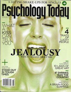 Psychology Today magazine Jealousy Laws of great art Patterns of pursuit Survive