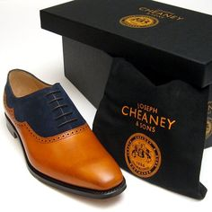 Cheaney Newport | Two Tone Shoe | Hand Made in England