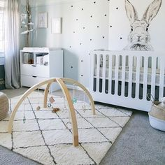 The timeless Olliella Beni Moroccan floor rug is perfect for a nursery or playroom with its 100% NZ wool shop floor rugs online www.seekandstyle.com.au Getting some inspiration from @littledwellings for my nursery. I can't decide between the Beni Moroccan or Etched Berber rug