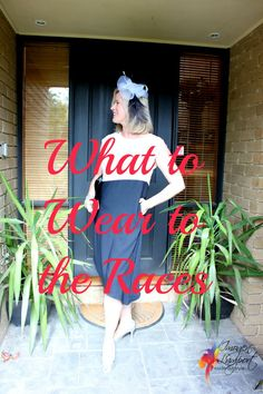 What to wear to the races - Spring Racing Carnival, Melbourne Cup, Derby Day - on Inside Out Style Blog