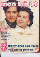 Revista Mon Tricot: Mon Tricot 120 - Junho 1990