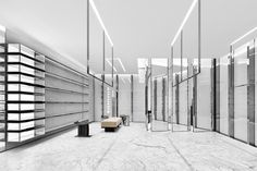 Saint Laurent store by Anthony Vaccarello Miami  Florida