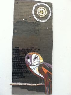 Owl by BaileyWho?, via Flickr - art - mosaic