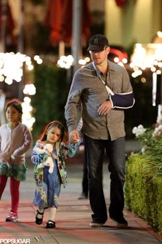 How cute is Matt Damon's daughter?