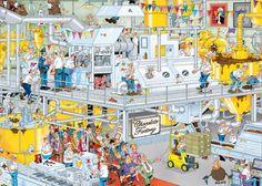 Jan van Haasteren - De Chocoladefabriek