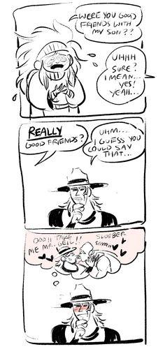 poorly drawn hol horse