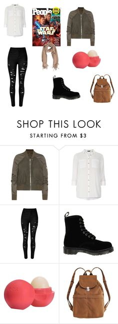 """""""Star wars"""" by alessiabazzurro on Polyvore featuring Rick Owens, Dorothy Perkins, Dr. Martens, Eos and BAGGU"""