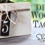 Wood Tags ~ DIY