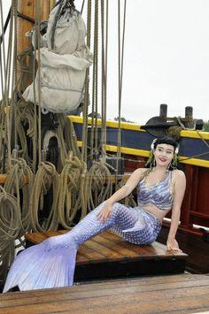 pirate ship mermaid, merbella studios inc mermaid tail and matching octopus top