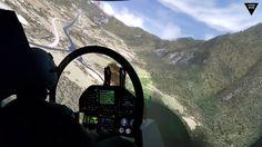 F/A-18 Superhornet, F-18 Hornet simulator cockpit