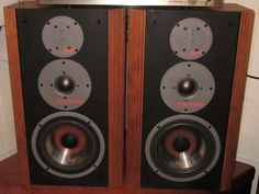 "Here's an awesome set of Infinity #RS6 speakers.  They have new surrounds with ""Emit"" tweeters.  $450"