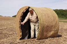 Blind Ambition Bale Blinds - Gallery I had the honor to meet this gentleman...and he is one of the most down to earth people I have meant! And unlike some other hunting blind companies this guy stands behind his product!