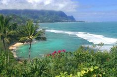 Princeville, Kauai..it is impossible not to fall in love w/ the beauty here.