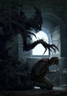 He had everything his heart desired had everything his heart desired Inner demons fantasy picture Inner demons fantasy Dark Fantasy Art, Fantasy Artwork, Fantasy Kunst, Fantasy World, Fantasy Demon, Dark Artwork, Final Fantasy, Arte Horror, Horror Art