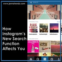 How Instagram's New Search Function Affects You - @jenn_herman31