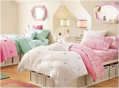 Tween Girl Bedrooms 12 ideas for sisters who share space | kids rooms, spaces and room