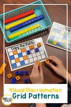 Visual Discrimination - Grid Patterns
