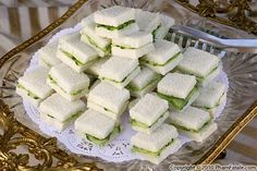 Cucumber Sandwiches: The perfect finger sandwich for Tea Time!