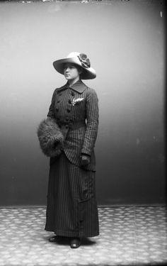 Digitalt Museum - Olga Skott Vänersborg 1914