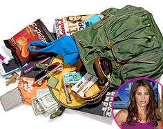 Jillian Michaels: What's in My Bag? Whats In Your Purse, What In My Bag, What's In Your Bag, Jillian Michaels, You Bag, Daily Fashion, Purses And Bags, Celebrity Style, Radiation Exposure