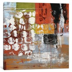 East Urban Home Saturday by Irena Orlov Painting Print on Wrapped Canvas Size: