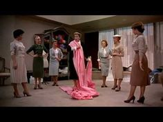 Love this movie and this clip.    In this scene fashion editor (played by Kay Thompson creator of the Eloise picture books) decides that PINK will be the latest thing.  Because Funny Face is a musical her brainstorm turns into a (fabulous) song and dance number.