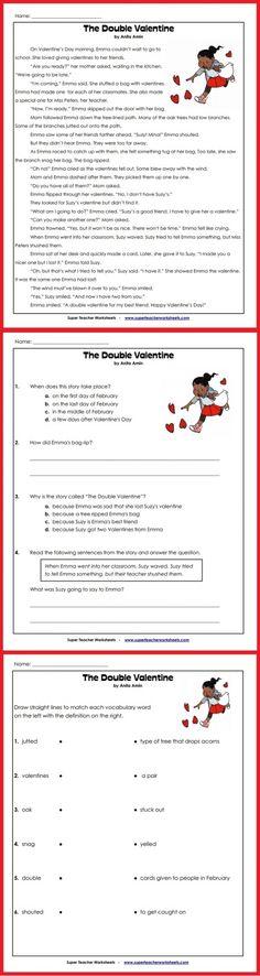 44 Best Language Arts Super Teacher Worksheets Images On Pinterest