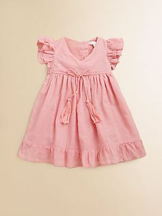 Marie Chantal - Infant's Mukaish Dress & Bloomers Set - Saks.com