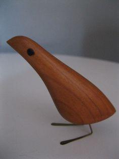 JACOB HERMANN TEAK BIRD $475