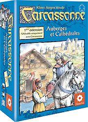 Auberges et Cathédrales-Brand New /& Sealed Carcassonne Extension 1