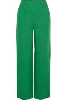 Isa Arfen Cropped linen wide-leg pants | NET-A-PORTER
