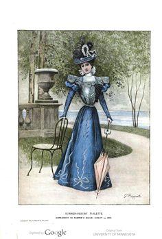 Harper's Bazaar 1897