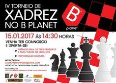 Barreiro - IV Torneio de Xadrez no B.Planet<br /> Para jogadores filiados ou não na Federação Portuguesa de Xadrez<br />