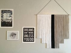 Customizable Large Yarn Tapestry