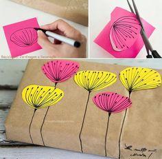 1000 images about regalos on pinterest wrapping ideas - Envolver regalos grandes forma original ...