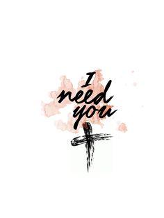 Lord, I need you, O I need you Every hour I need you,