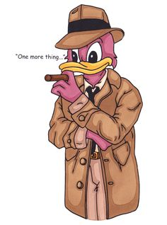 Columbo Duck in colour 2