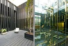 modern courtyard houses - Google Search