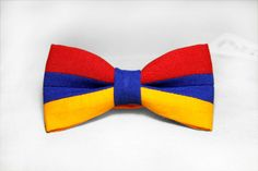 FREE SHIPPING WORLDWIDE, armenian bow tie, flag of Armenia bow tie, made in armenia, armfashion, man's bow tie, modern bow tie, flag by BowX on Etsy