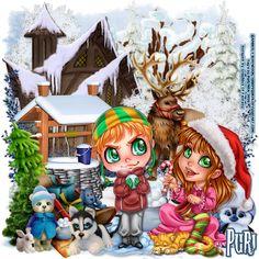 "MI RINCÓN GÓTICO: CT GRAPHICS OF FANTASY, ""Winter Frosty"""