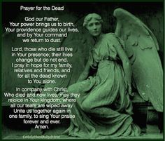 Pray for the dead