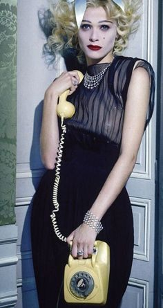 Elisa Sednaoui photography by Miles Aldridge for Vogue Italia